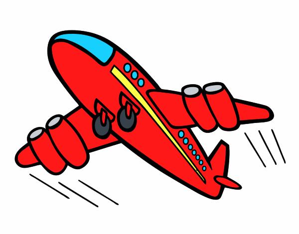 dibujo de avi u00f3n r u00e1pido pintado por pepota67 en dibujos net cartoon airplane with banner clipart cartoon airplane clipart