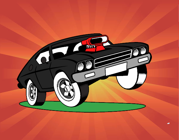 Dibujo De Auto De Toreto Rápido Y Furioso 7 Pintado Por En Dibujos