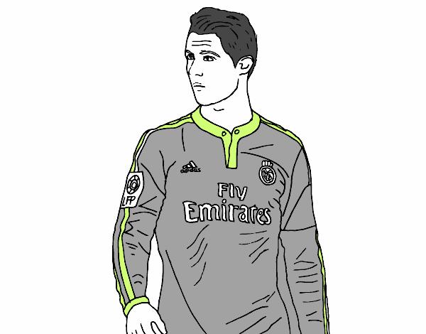 Dibujo De Cristiano Ronaldo Pintado Por En Dibujosnet El Día 08 08