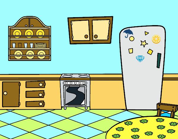 Dibujo de cocina office pintado por martinezna en dibujos - Cocina dibujo ...