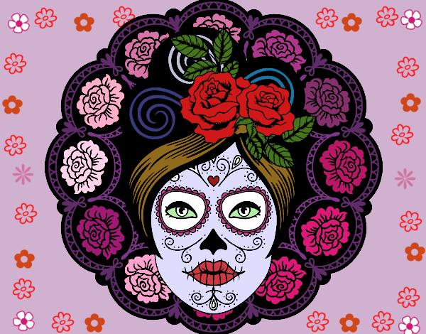 Dibujo De La Catrina Pintado Por En Dibujosnet El Día 25 09 15 A