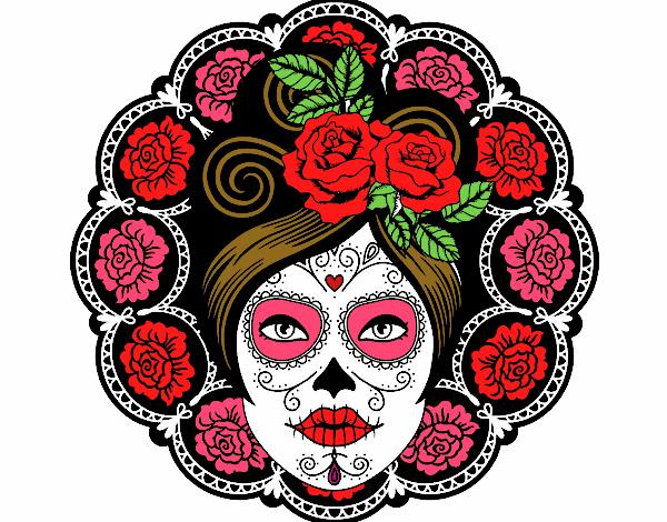 Dibujos De Día De Los Muertos Para Colorear Dibujosnet