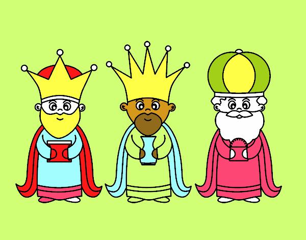 Best Dibujos De Los Reyes Magos Kawaii Image Collection