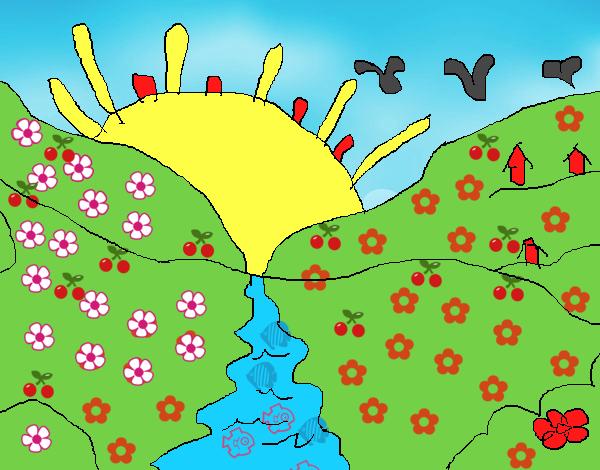 Dibujo De Paisaje Real Pintado Por En Dibujosnet El Día 08 11 15 A