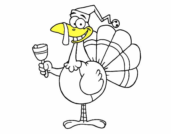 Dibujo de Pavo gracioso pintado por en Dibujos.net el día 16-11-15 a ...