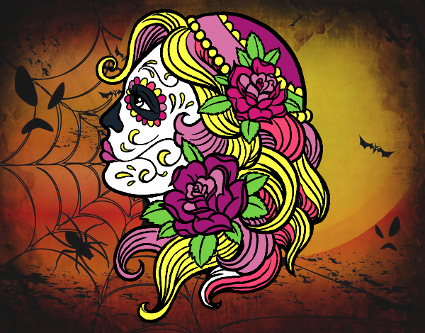 Dibujo De Tatuaje De Catrina Pintado Por En Dibujosnet El Día 20 11