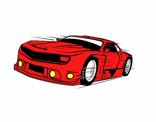 Dibujo De Auto De Rapidos Y Furiosos Pintado Por En Dibujosnet El