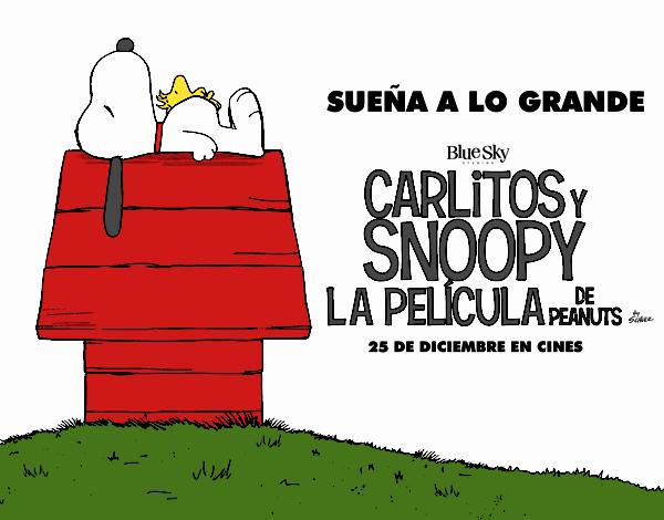 Dibujo de Snoopy y Woodstock pintado por en Dibujos.net el día 18-12 ...