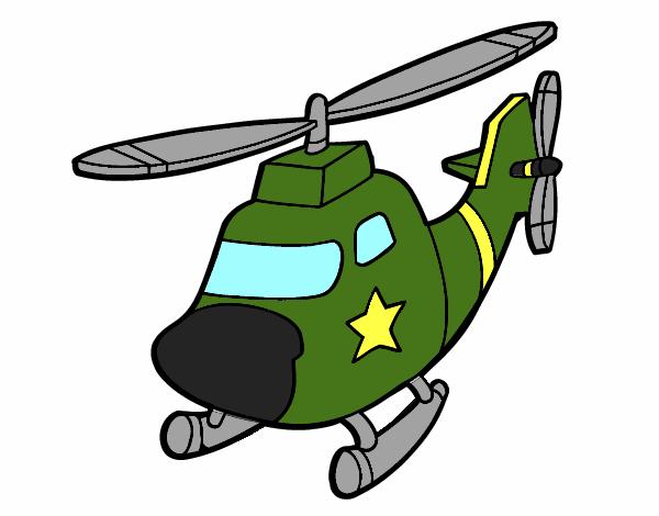 Dibujo De Helicopter De Guerra Pintado Por En Dibujosnet El Día 18