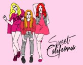 El grupo Sweet California