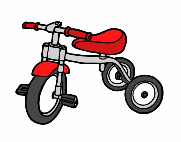 Dibujo De Triciclo Para Niños Pintado Por En Dibujosnet El Día 12