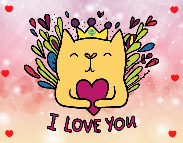 Dibujo De Mensaje De Amor Pintado Por Stephany13 En Dibujosnet El