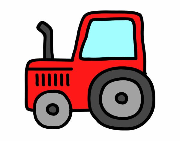 Como Dibujar Un Tractor Facil Wwwimagenesmycom