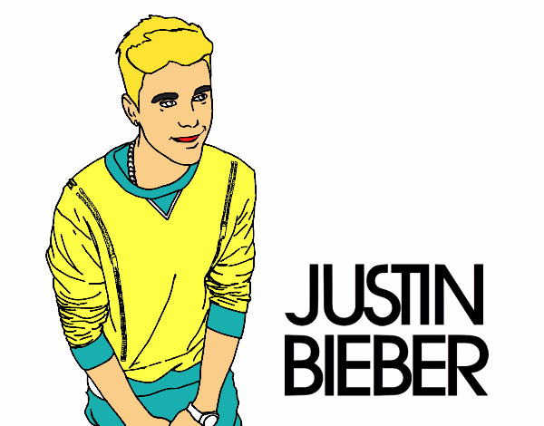 Dibujo de Justin Bieber pintado por en Dibujos.net el día 30-03-16 a ...