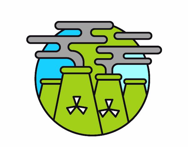 Dibujo De Energía Nuclear Pintado Por En Dibujosnet El Día 11 04 16