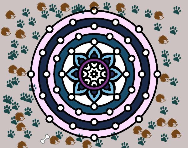 Dibujo De Mandala Sistema Solar Pintado Por Bia Dam En Dibujos Net