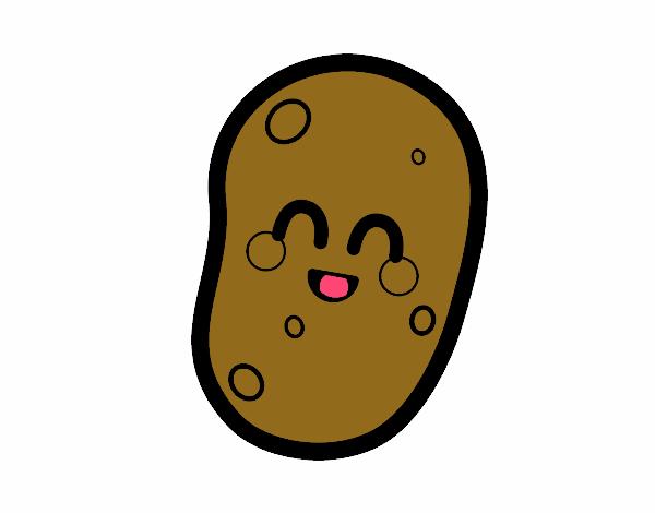 Dibujos De Patatas Para Colorear