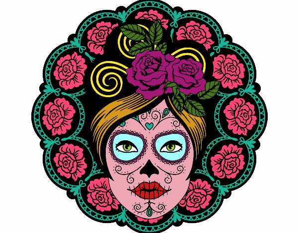 Dibujo De La Mujer Mexicana Pintado Por En Dibujosnet El Día 08 07