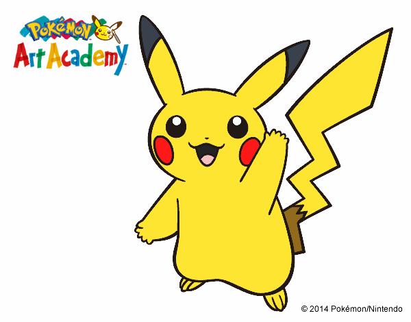 Dibujos De Pokemon A Color: Dibujo De Pikachu Ash Pintado Por Ashkepchum En Dibujos