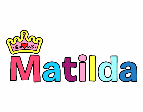 Dibujo de Matilda pintado por en Dibujos.net el día 21-10-16 a las ...