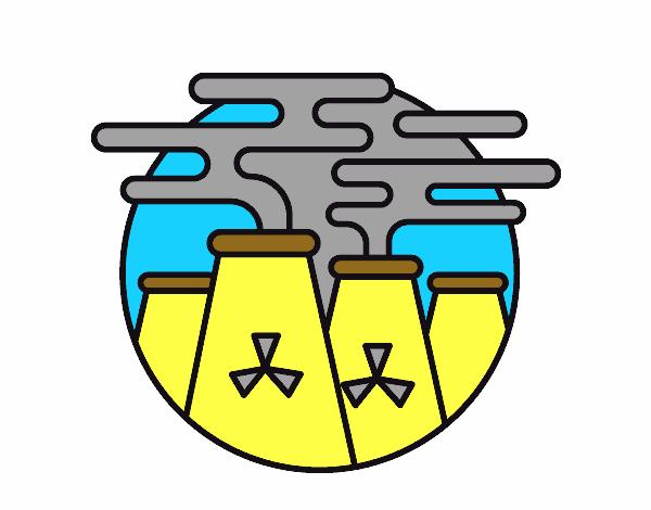 Dibujo De Energía Nuclear Pintado Por En Dibujosnet El Día 10 11 16