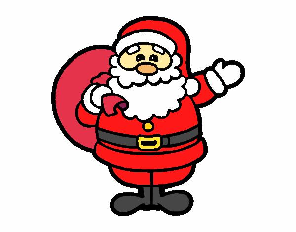 Papá Y Mamá Noel Dibujos Para Imprimir Y Colorear: Dibujo De Un Papá Noel Pintado Por Solbatia En Dibujos.net