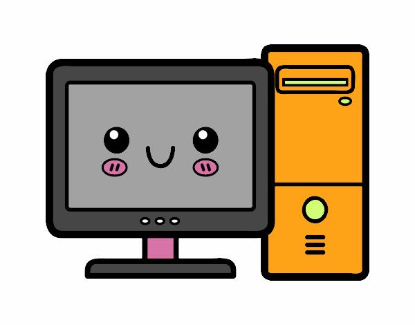 Dibujo de el bafle y el computador pintado por en Dibujos.net el ...