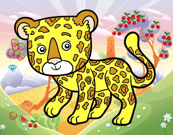 Dibujo De Bebe Jaguar Pintado Por En Dibujosnet El Día 27 01 17 A