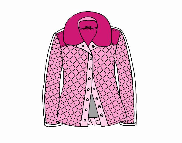 b24a50cf9d852 Dibujo de Una chaqueta pintado por en Dibujos.net el día 21-02-17 a ...