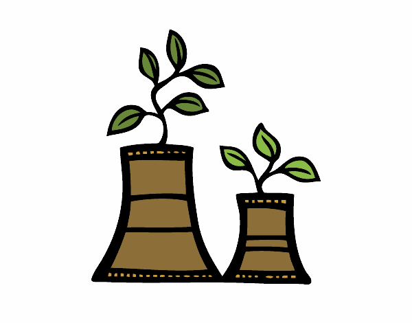 Dibujo De El Fin De La Energía Nuclear Pintado Por En Dibujosnet El