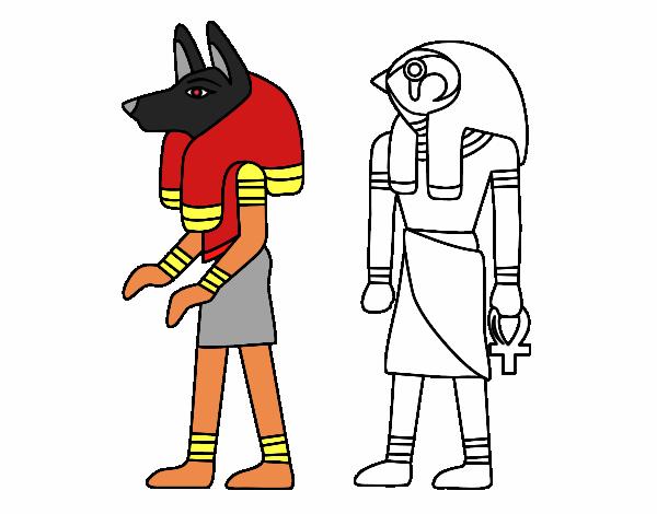 Dibujo de Esfinges egipcias pintado por en Dibujos.net el día 26-03 ...