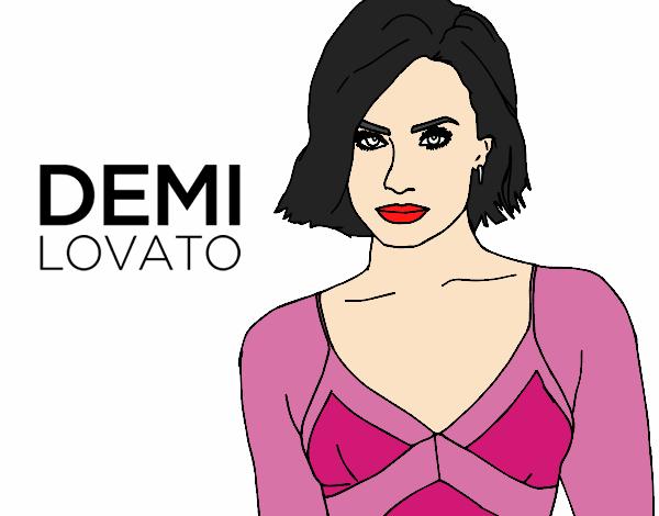 Dibujo de Demi Lovato pintado por en Dibujos.net el día 20-04-17 a ...