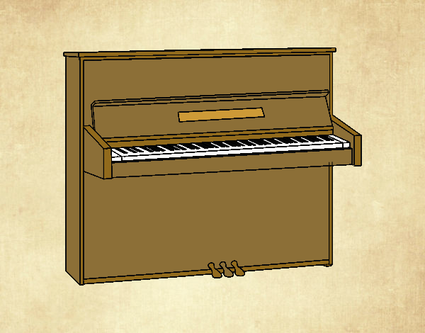 Un piano de pared