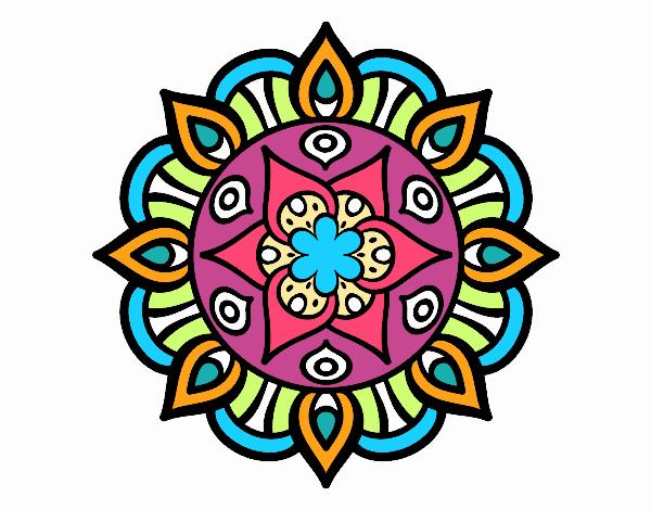 Dibujo De La Flor De La Vida Pintado Por En Dibujosnet El Día 20 05
