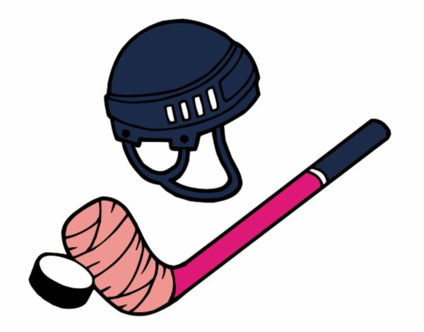 Dibujo de Material de hockey pintado por en Dibujos.net el día 22-05 ...