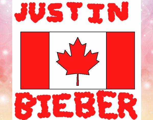 Dibujo De Bandera De Canada Pintado Por En Dibujosnet El
