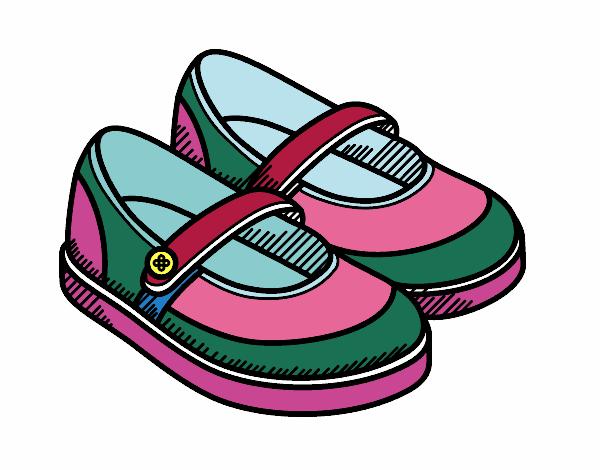 Resultado de imaxes para zapatos dibujo