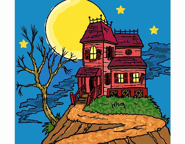 Dibujo De Casa Abandonada Pintado Por En Dibujosnet El Día 21 07 17
