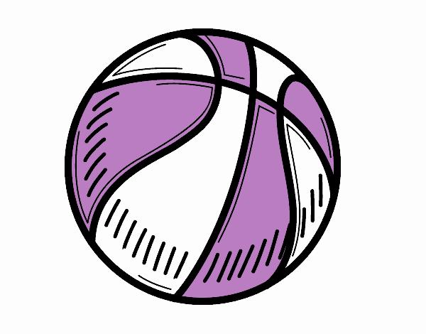 Dibujo de Pelota de baloncesto pintado por en Dibujos.net el día 06 ...