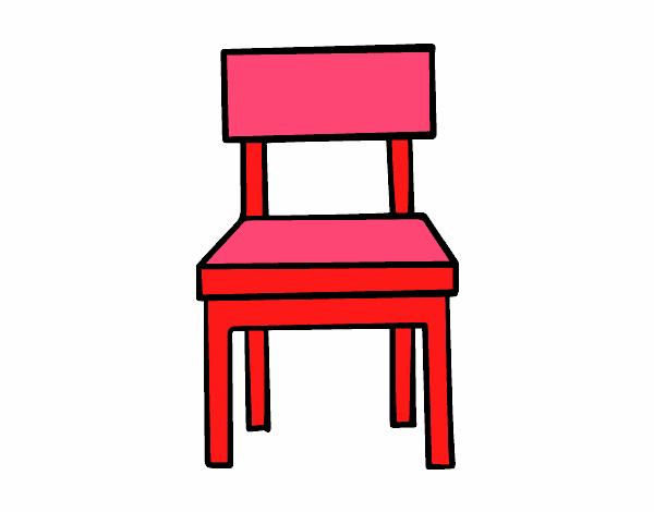 Dibujo De Una Silla De Comedor Pintado Por En Dibujosnet El Día 15