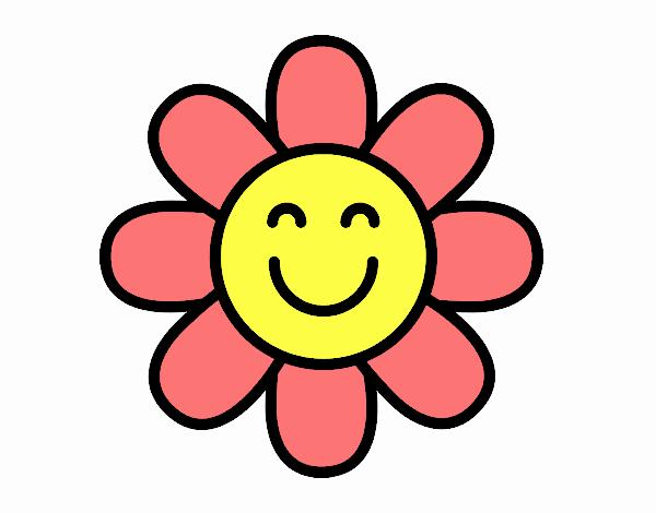 Dibujo De Flor Sencilla Pintado Por En Dibujosnet El Día 23 08 17 A