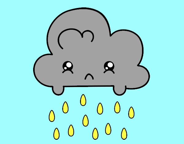 Dibujo de lluvia acida pintado por en Dibujos net el día
