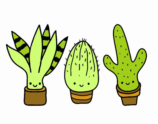 Dibujo De Cactus Kawaii Pintado Por En Dibujosnet El Día 31 08 17 A