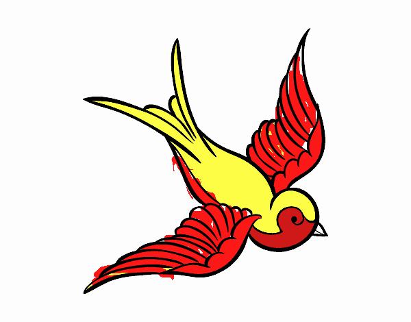 Dibujo De Dibujos De Aves Para Imprimir Pintado Por En Dibujosnet