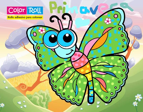 Dibujo De Mariposa Primavera Pintado Por En Dibujosnet El Día 06 09
