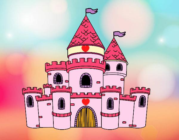 Dibujo De Castillo De Princesas Pintado Por Sosa2005 En Dibujosnet