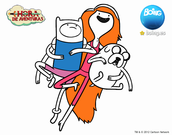 Dibujo de Volando con Marceline pintado por en Dibujos.net el día 27 ...
