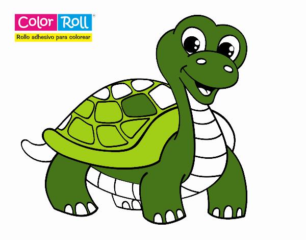 Dibujo de Tortuga Color Roll pintado por en Dibujos.net el día 12-10 ...