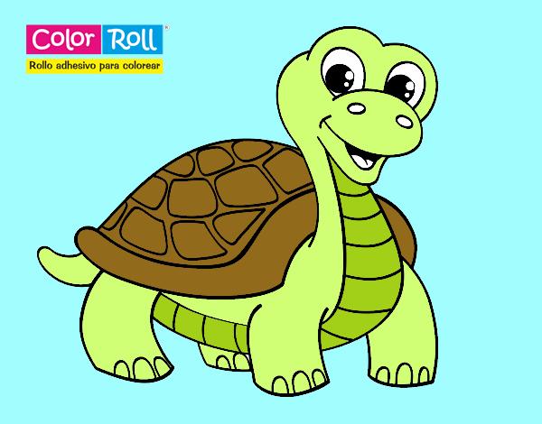 Dibujo de Tortuga Color Roll pintado por en Dibujos.net el día 14-10 ...