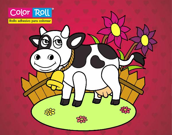 Dibujo De Lola La Vaca Pintado Por En Dibujos Net El Día 10